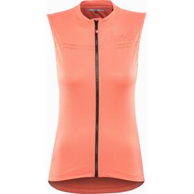 Castelli Promessa Mouwloof Fietsshirt Dames rood